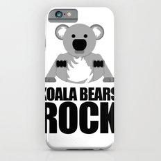 Koala Bears Rock Slim Case iPhone 6s