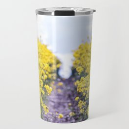 Walk Through the Yellow Travel Mug
