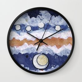 If the blue sky is a fantasy, Wall Clock