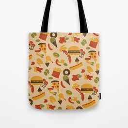 Fast Foodouflage Tote Bag