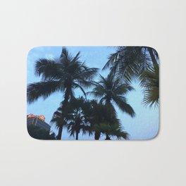 Palm trees at Sunway Lagoon Resort, Malaysia Bath Mat