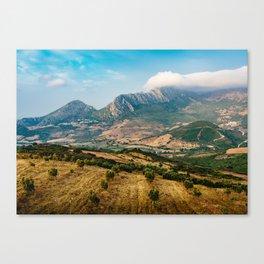 Jebel Musa (Morocco) Canvas Print
