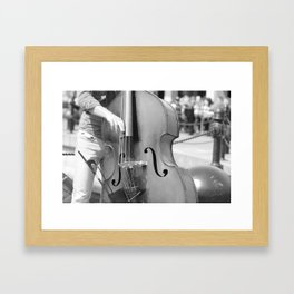 Jazz By The Harbour Framed Art Print