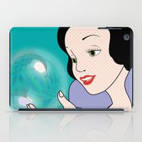 snow white iPad Cases featuring Snow White by mark ashkenazi