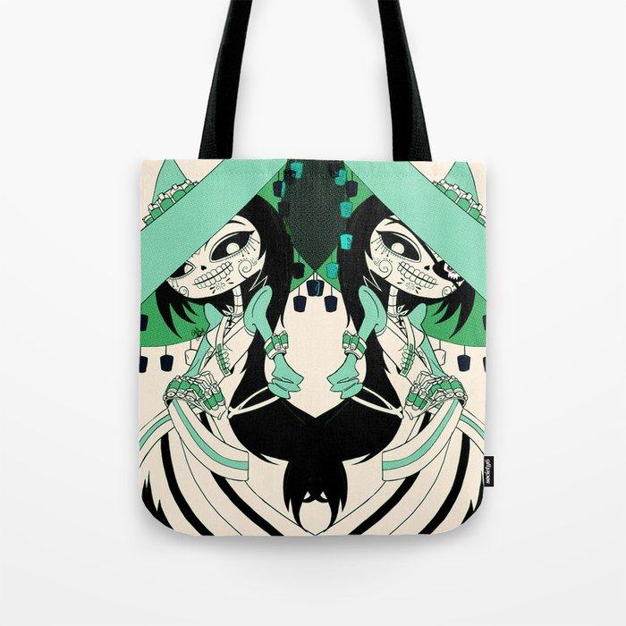 Las Adelitas Sanchez Tote Bag