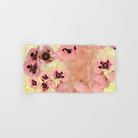 Poppy fever Hand & Bath Towel