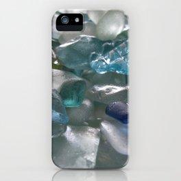 Ocean Hue Sea Glass Assortment iPhone Case