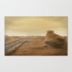Long Road Ahead Canvas Print