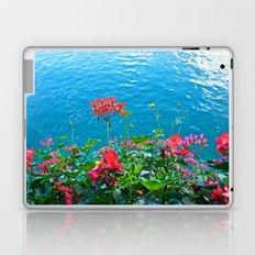 Chapel Bridge Flowers Laptop & iPad Skin