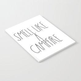 Smell Like a Campfire Notebook