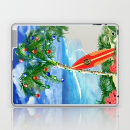 Beach Christmas Laptop & iPad Skin