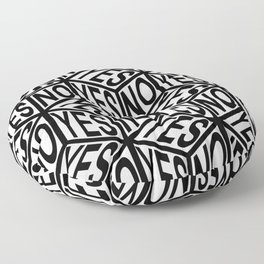 YES/NO Floor Pillow