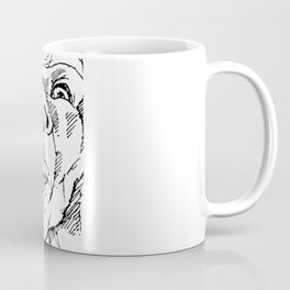 Napkins (Black and White) Coffee Mug