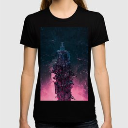 The Technocore / 3D render of futuristic structure T-shirt