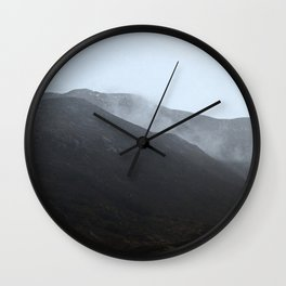 The mystery in the mountain Wall Clock