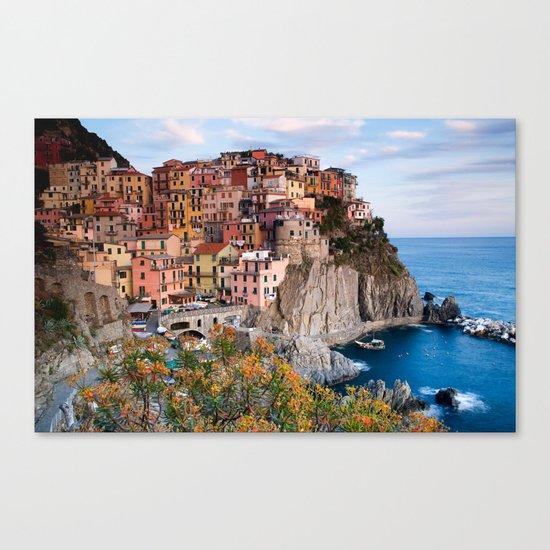 Italy Village Canvas Print
