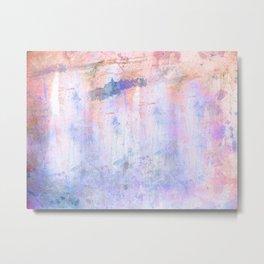 Splash Watercolor Metal Print