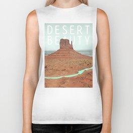 Desert Beauty Biker Tank