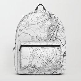 Dijon Map White Backpack