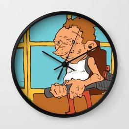 Halfling Store Wall Clock