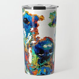 Labrador Retriever Art - Play With Me - By Sharon Cummings Travel Mug