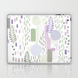 Close to Nature - Simple Doodle Pattern 1 #handdrawn #pattern #nature Laptop & iPad Skin