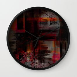 """Cherry / Rose Gold Porstroke"" Wall Clock"