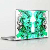 ellie goulding Laptop & iPad Skins featuring Ellie by bexchalloner