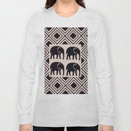 African Tribal Pattern No. 4 Long Sleeve T-shirt