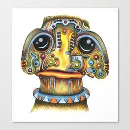 The Forlorn Alien Canvas Print