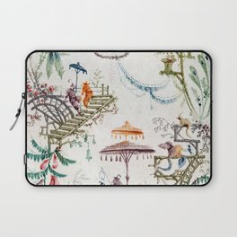 Enchanted Forest Chinoiserie Laptop Sleeve
