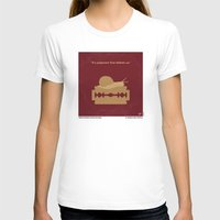 apocalypse now T-shirts featuring No006 My Apocalypse Now minimal movie poster by Chungkong