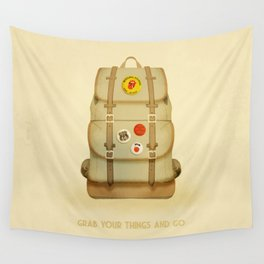 PACK AND GO Wall Tapestry