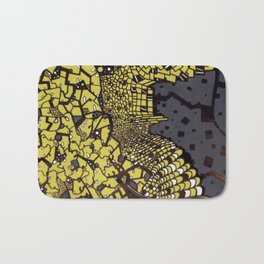 (I Want To Live On An) Abstract Plain Bath Mat