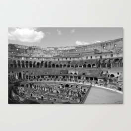 Colosseo Colossee Canvas Print