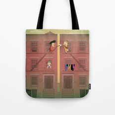 The Nick Yorkers in April Tote Bag