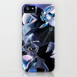 Battle of the Mechs iPhone Case