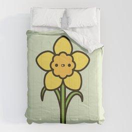 Happy daffodil Comforters
