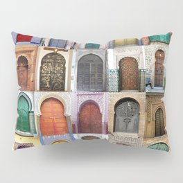 Moorish Doors Montage Pillow Sham