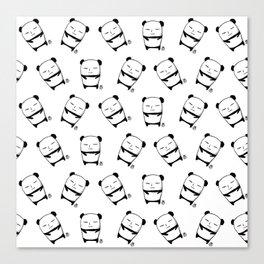 Winnie the Panda Canvas Print