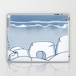 In Paradise Labyrinth Andre Bloc Laptop & iPad Skin