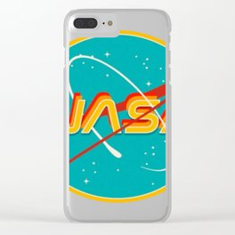 Nasa Clear iPhone Case