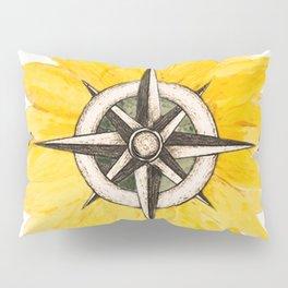 Compass  Sunflower Pillow Sham
