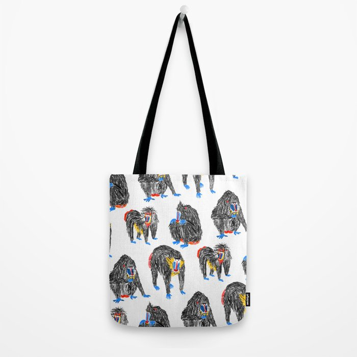 Baboons Tote Bag