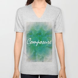 Composure Unisex V-Neck