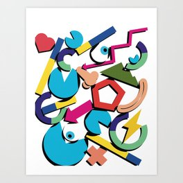 Quantified self Art Print