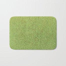 Retro Green Shag Pile Carpet Bath Mat