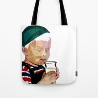 milk Tote Bags featuring Milk by Alvaro Tapia Hidalgo