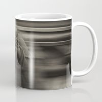 medieval Mugs featuring Medieval angst by Mark Nelson