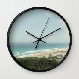 BEACH DAY 40 Wall Clock
